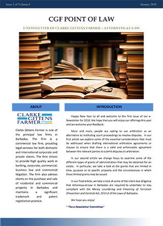 legal newsletter